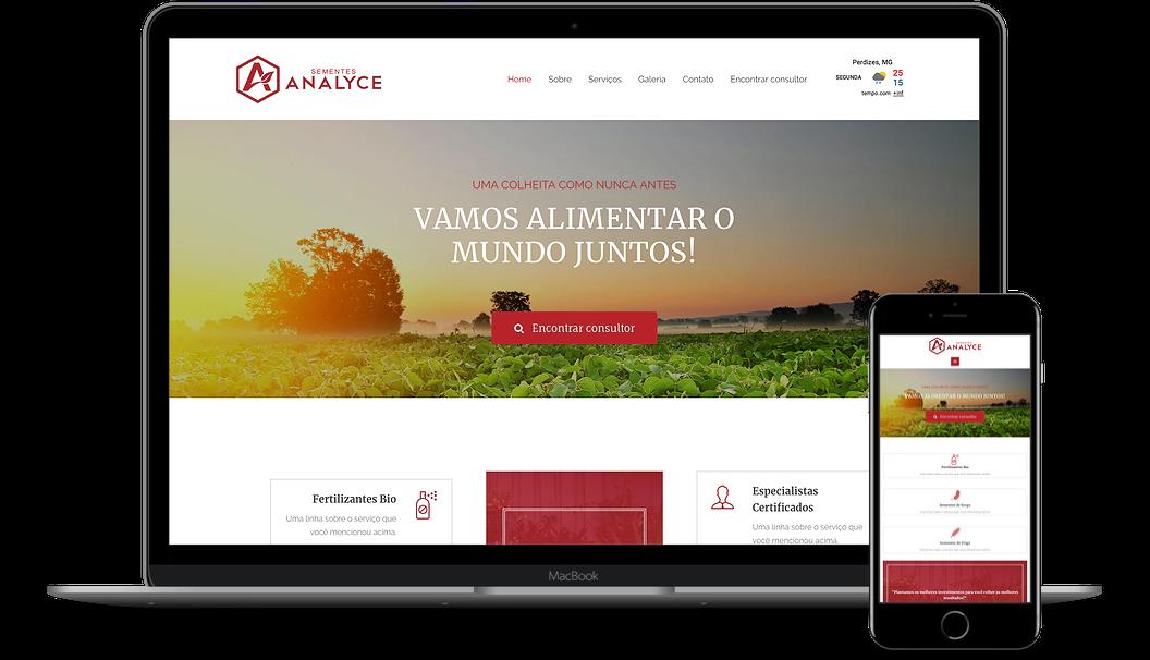Criamos seu site totalmente personalizado!